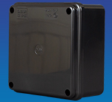 IP56 Enclosure Black 100 x 100 x 50mm